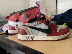 Nike Off White Jordan Chicago 1's - Size 13 for Sale in South Brunswick Township, NJ