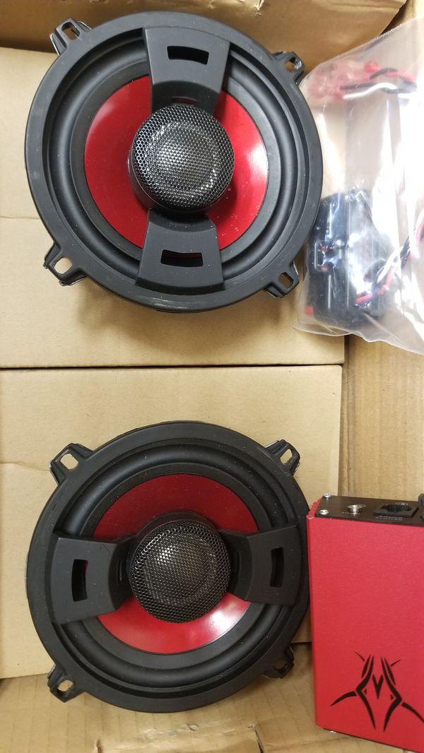 Hog tunes amp and speakers