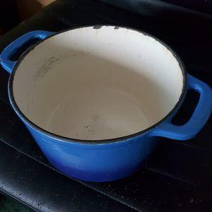 Heavy Cast Iron Ceramic Pot / Pan for Sale in Albuquerque, NM