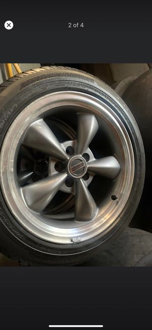 American muscle rims / tires for Sale in Albany, NY