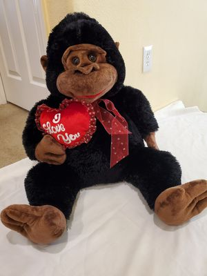 Gorilla monkey doll. Brand New with tag. Size: (30 inches height). Pickup only,... near to this location : 6105 s. Fort Apache Rd, 89148. for Sale in Las Vegas, NV