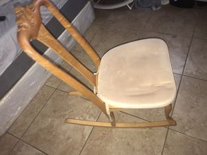 Small Wooden Rocking Chair for Sale in Tolleson, AZ