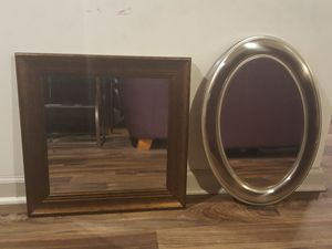NICE framed wall mirror (discount for both) Great condition! for Sale in Atlanta, GA
