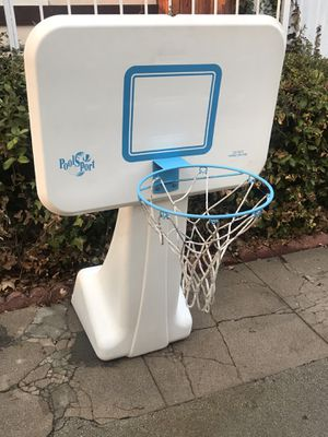 DUNN RITE - POOL SPORT SWIMMING BASKETBALL COURT WITH EXTRA STAND - $60 for Sale in Pasadena, CA