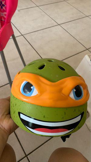Ninja turtle helmet for Sale in Coral Gables, FL