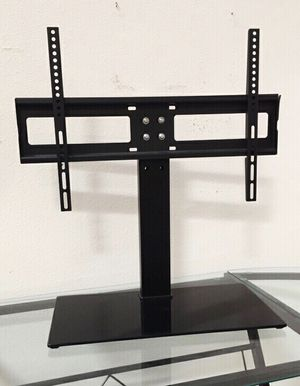 New in box Universal fits 30 to 60 inch tv television stand replacement 120 lbs capacity dresser table tv stand tv mount for Sale in South El Monte, CA