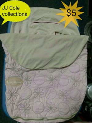 JJ Cole collections car seat cover for Sale in Toledo, OH