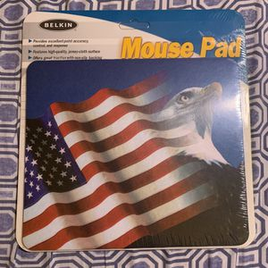 [NEW & SEALED, RARE!] Belkin Mouse Pad (USA, American Flag, Bald Eagle) [F8E080-EAGLE] for Sale in Rolling Meadows, IL