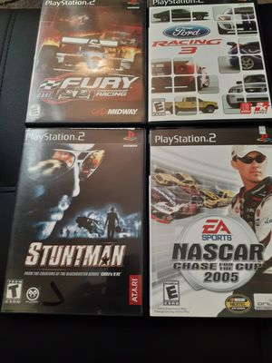 Playstation 2 ..racing games bundle for Sale in Indianapolis, IN