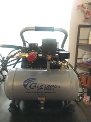 California air tools air compressor for Sale in Bowie, MD