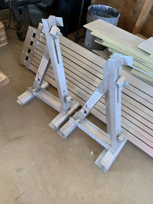 Ladder jacks and scaffolding plank for Sale in Portland, OR