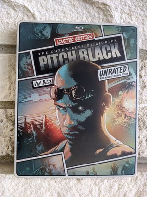 Limited Steelbook Edition Pitch Black for Sale in Seattle, WA