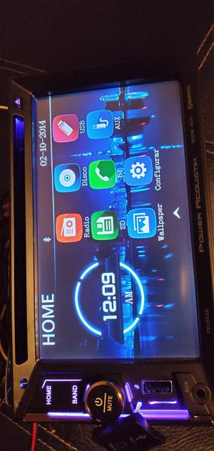 POWER ACOUSTIK BLUETOOTH USB SD CARD ECT. for Sale in San Leandro, CA