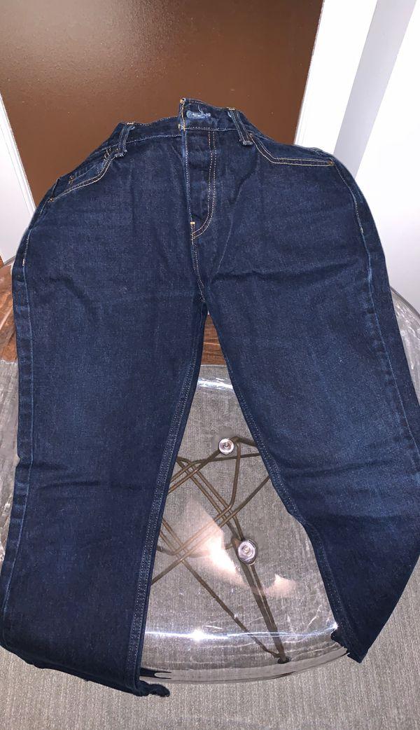 "Hollister 32x34 ""Skinny"" Dark Washed Jeans"