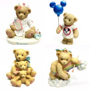 Adorable Cherished Teddies Teddy Bear Cub Animal Figurines - Priced Individually for Sale in Kent, WA