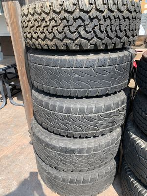Chevy 3/4 ton tires and rims for Sale in Long Beach, CA