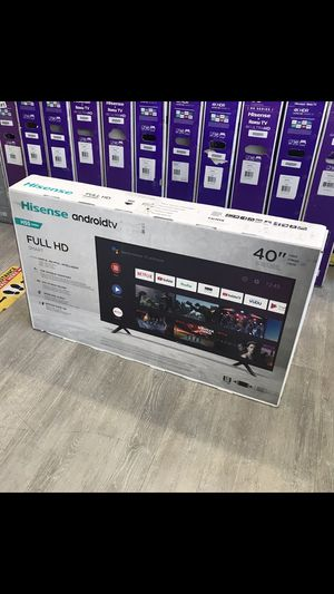 40 INCH HISENSE ANDROID FULL HD SMART TV for Sale in Chino Hills, CA