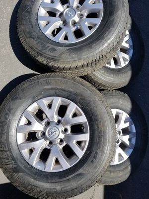 Tacoma 16in wheels with LIKE NEW TIRES for Sale in Phoenix, AZ