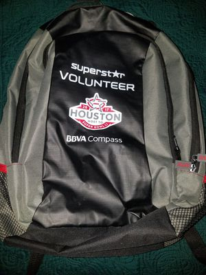 Houston Super Bowl 51 Volunteer Bag Back for Sale in Katy, TX