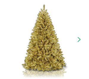 Brand New Gold Champagne 6 Feet Christmas Tree for Sale in Washington, DC