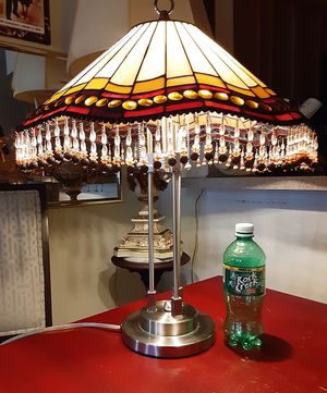 Beautiful Stained Glass Table Lamp for Sale in Mount Rainier, MD