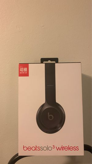 Beats Solo 3 Wireless - Perfect Condition (Used Once) for Sale in New York, NY