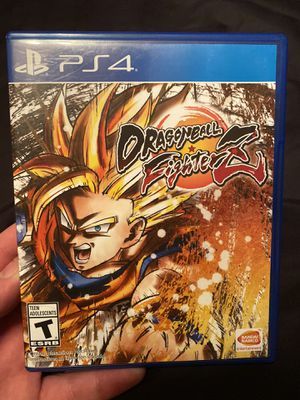 Dragonball Fighter Z - PS4 for Sale in Anaheim, CA