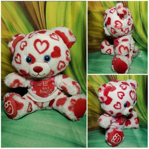 """Build a Bear 8"""" Huggable Hearts Small Fry Buddies Plush Teddy Plush Valentines for Sale in Dale, TX"""
