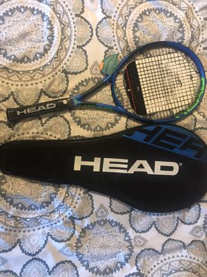 Head heat tour IG Tennis racket, 4 3/8 brand new with tags with cover/case for Sale in Fountain Hills, AZ
