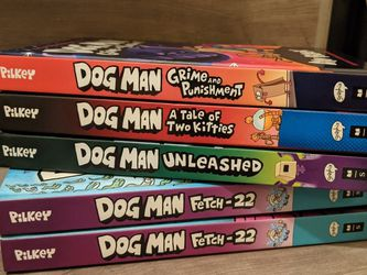 Dog Man Books for Sale in Santee,  CA