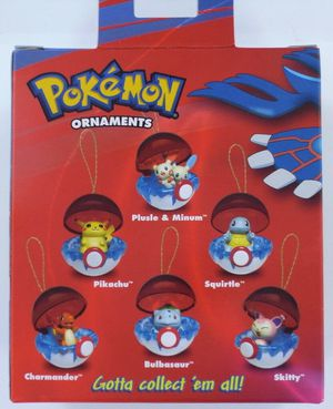 Pokemon Collector's Xmas 6 Retired Ornaments-NEW for Sale in Winter Park, FL
