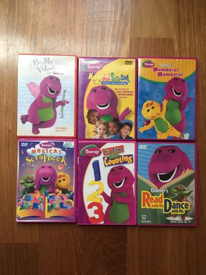 Barney's DVD'S for Sale in Mundelein, IL