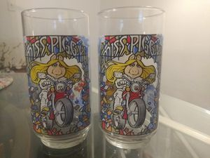 2 Collectible McDonald's Miss Piggy Glasses for Sale in St. Louis, MO