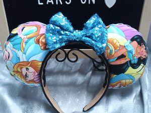 Princess mickey ears for Sale in Norwalk, CA