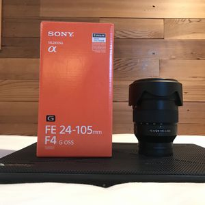 Sony 24-105 F4 Lens For Sony E Mount Camera for Sale in Encinitas, CA