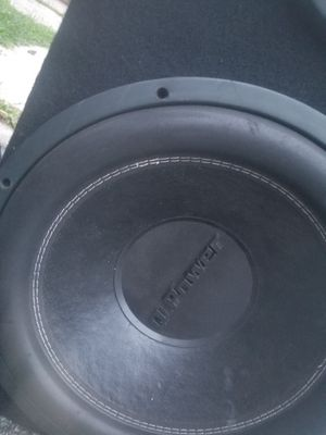SUBWOOFER for Sale, used for sale  Rutherford, NJ