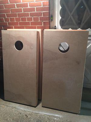 Plain cornhole boards for Sale in Granite City, IL