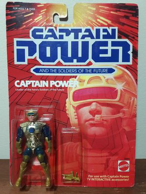 Captain Power Vintage Action Figure 80s Toy for Sale in Marietta, GA