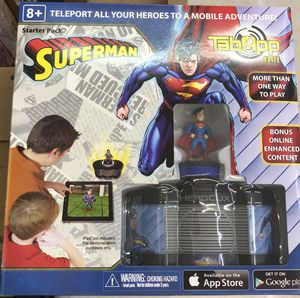 Superman Mobile Game for Kids (iOS/Android) - HeroClix DC - Tab App Elite: Superman Starter for Sale in Houston, TX
