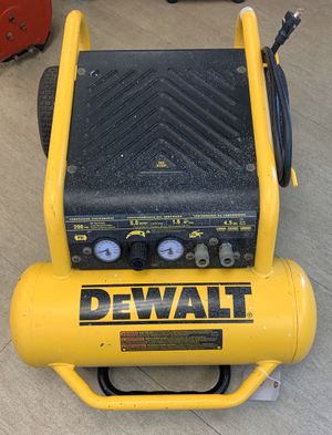 Dewalt 4.5 Gal. Portable Electric Air Compressor 225 MAX PSI for Sale in Silver Spring, MD