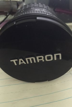 Camera Lens Tamron for Sale in College Park, GA