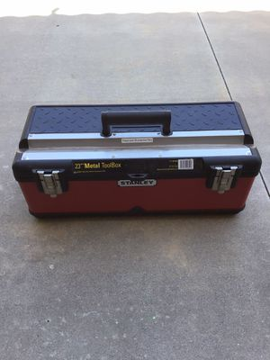 Stanley tool box for Sale in Rancho Cucamonga, CA