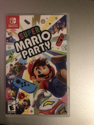 Super Mario Party Switch for Sale in Stockton, CA