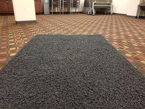 Nice black carpet rug for Sale in Falls Church, VA