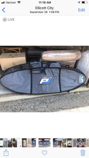 Pro Lite Surfboard double bag. for Sale in Ellicott City, MD