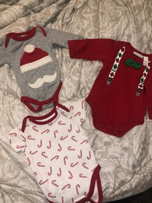 Christmas baby outfits for Sale in Reedley, CA