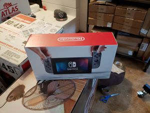 Grey Nintendo switch brand new in the box for Sale in Des Moines, WA