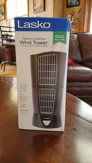 Lasko Desktop Wind Tower Fan for Sale in Salamanca, NY