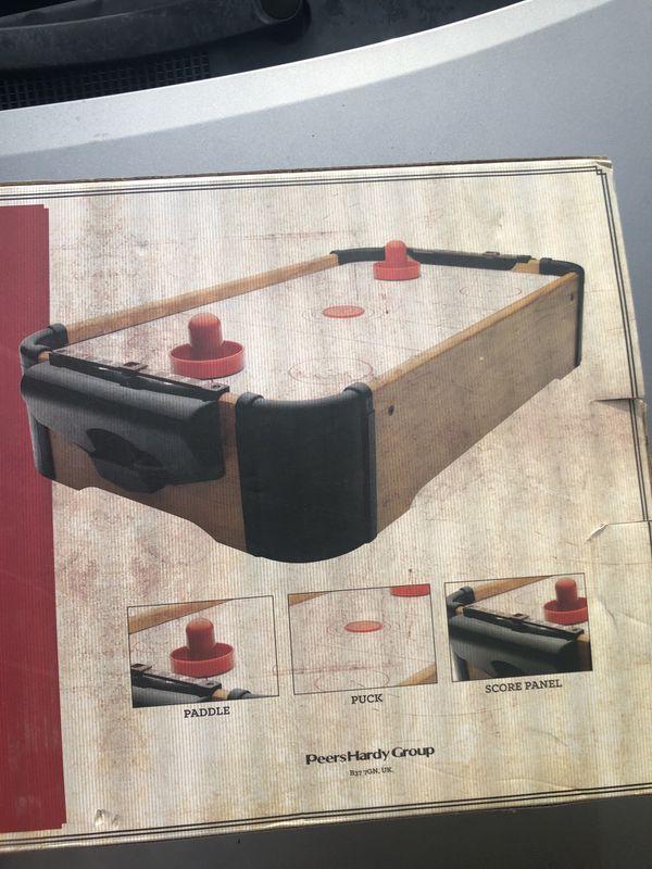 Air hockey table mini