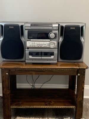 Aiwa old school stereo system and duel cassette player/ in a very good condition for Sale in Alexandria, VA